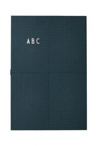 Leuchtende Schiefer A3 - L 30 x H 42 cm Dunkelgrüne Design Letters