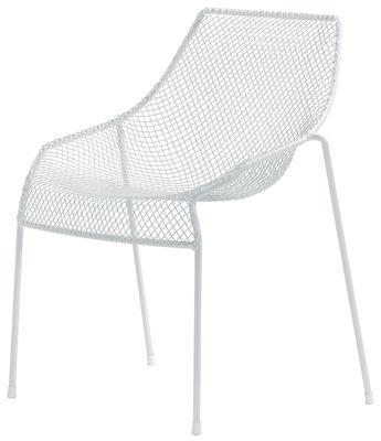 Ουρανό Λευκό Emu καρέκλα Jean-Marie Massaud 1