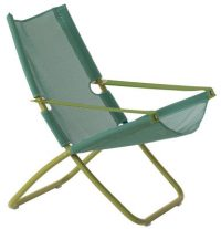 Chaise longue Snooze vert Emu Alfredo Chiaramonte | Marco Marin 1