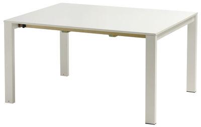mesa extensível redonda Branco Emu Christophe Pillet 1