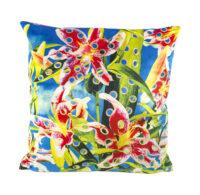 Toiletpaper cushion - Flower with hole - 50 x 50 cm Multicolor Seletti Maurizio Cattelan | Pierpaolo Ferrari