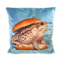 Toiletpaper cushion - Toad - 50 x 50 cm Multicolor Seletti Maurizio Cattelan | Pierpaolo Ferrari