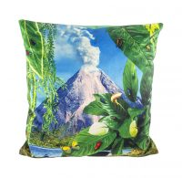 Toiletpaper cushion - Volcano - 50 x 50 cm Multicolor Seletti Maurizio Cattelan | Pierpaolo Ferrari