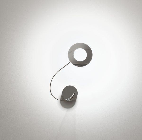 Aplique Giulietta - LED - ø 11 cm Metal polido Catellani & Smith Catellani & Smith