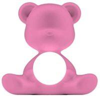 Wireless Table Lamp Teddy Girl Bright Pink Qeeboo Stefano Giovannoni 1