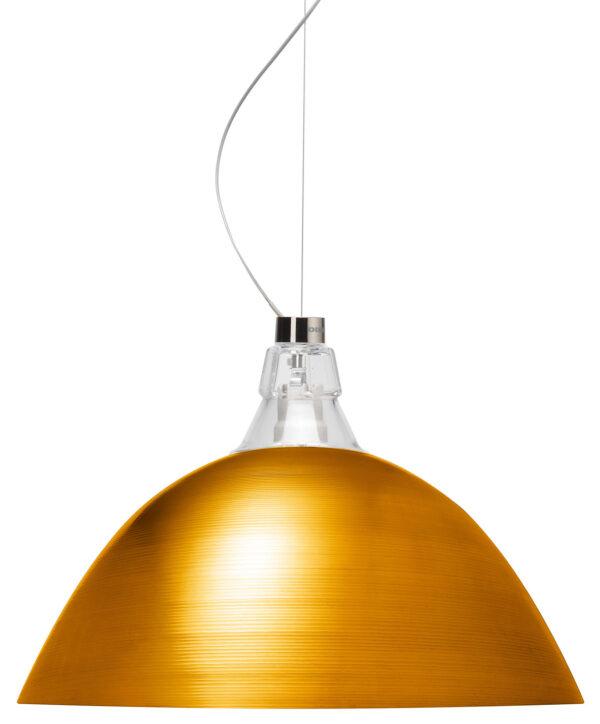 Lâmpada de suspensão sino de bronze Diesel com Foscarini Diesel Equipe Criativa 1