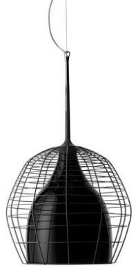Lampada a sospensione Cage - Ø 46 cm Nero Diesel with Foscarini Diesel Creative Team 1
