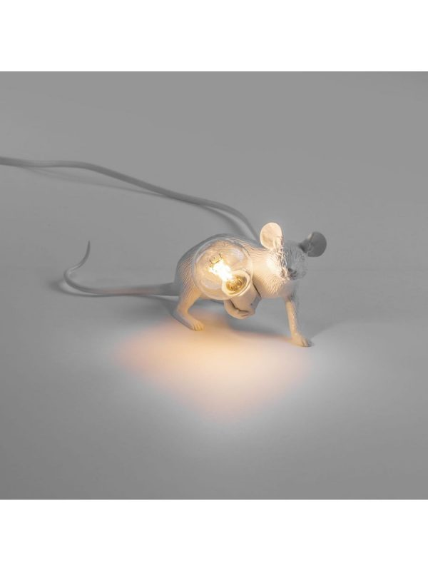 Mouse Lie Down Table Lamp # 3 Blan long Mickey Mouse Seletti Marcantonio Raimondi Malerba