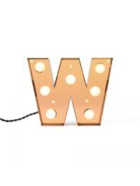 Table Lamp Caractère Aplik - Lèt W Brilliant Gold selibatè | Studio kreyatif Studio