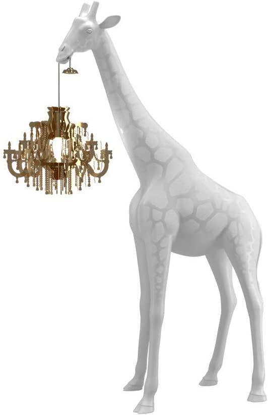 Giraffe in Love Floor Lamp XS White Qeeboo Marcantonio Raimondi Malerba 1