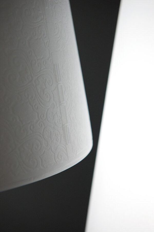 Stehlampe Madame of Love White Slide Moropigatti 3