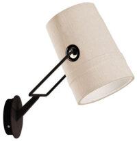 lâmpada de parede Fork Brown | Diesel marfim com Foscarini Diesel Equipe Criativa 1