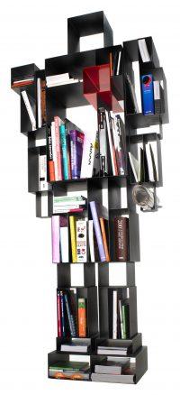 Βιβλιοθήκη Red Robox | Μαύρο Casamania Fabio Novembre