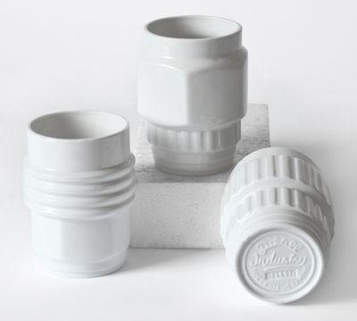 Mug Machine Collection / Set 3 White Diesel living with Seletti Diesel Creative Team 1