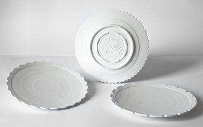 Teller-Maschine-Sammlung / 27,2 cm Ø - September 3 White Diesel leben mit Seletti Diesel Creative Team 1