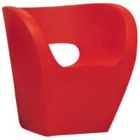 Red Armchair Little Albert Moroso Ron Arad 1