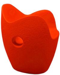 Πολυθρόνα O-Nest Κόκκινο πορτοκαλί Moroso Tord Boontje 1
