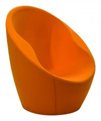 Orange Autsch Sessel Casamania Karim Rashid