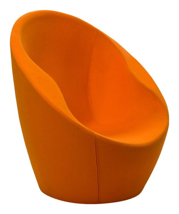 Πορτοκαλί Ouch Πολυθρόνα Casamania Karim Rashid