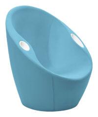 Autsch Sessel mit Ellbogenstützen Blue Casamania Karim Rashid
