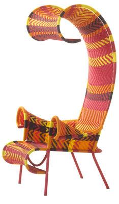 cadeira sombria Amarelo | Vermelho | Laranja | Brown Moroso Tord Boontje 1