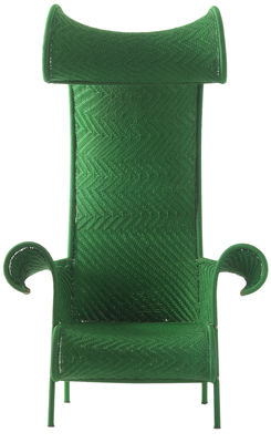 Grüne Stuhl Shadowy Moroso Tord Boontje 1