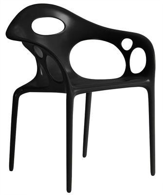Supernatural chair Moroso Ross Lovegrove Black 1
