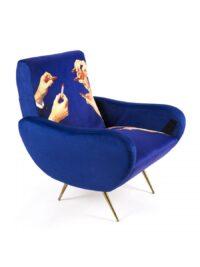 Πολύχρωμοι Καρέκλες Καθρέπτων Καθρέπτων | Seletti Blue Maurizio Cattelan | Pierpaolo Ferrari