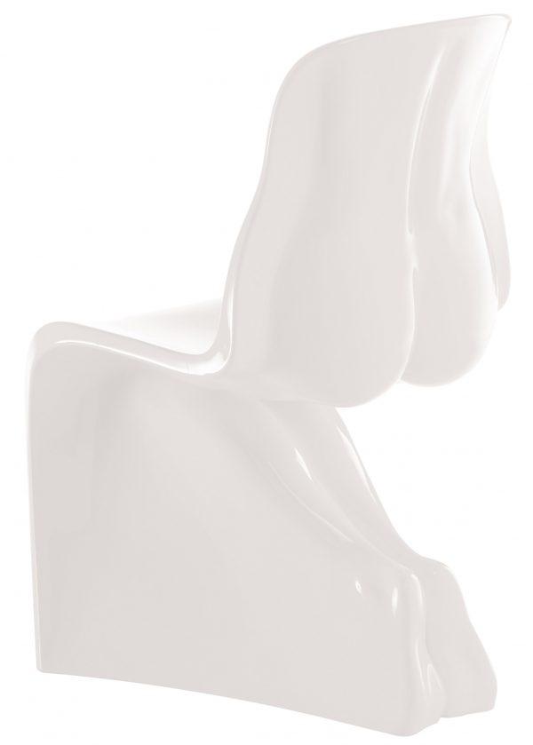 Ihr Stuhl - weiß lackierte Version Casamania Fabio Novembre