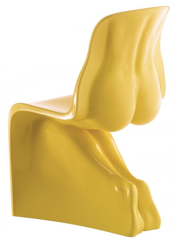 Η καρέκλα της - Casamania Yellow κλωστή έκδοση Fabio Novembre