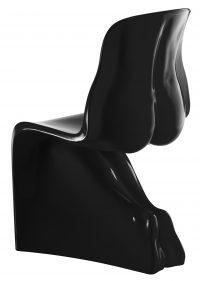 彼女の椅子-カサマニアブラック漆塗りバージョンファビオノベンブレ