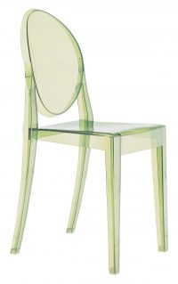 Victoria Ghost Green Kartell Philippe Starck 1スタッキングチェア