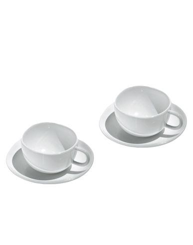 White cups set Fruit Basket Sanaa ALESSI 1