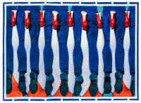 Tapi twalèt - Janm - 194 x 280 cm Seletti multicolore Maurizio Cattelan |