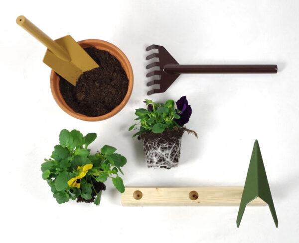 Garten Satz Werkzeuge Orte internoitaliano Giulio Iacchetti