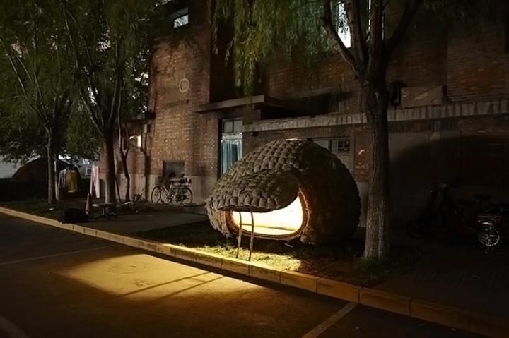 Egg Mobile Home, casa móvel em forma de ovo