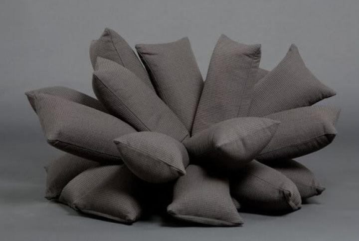 pillowtop canapé