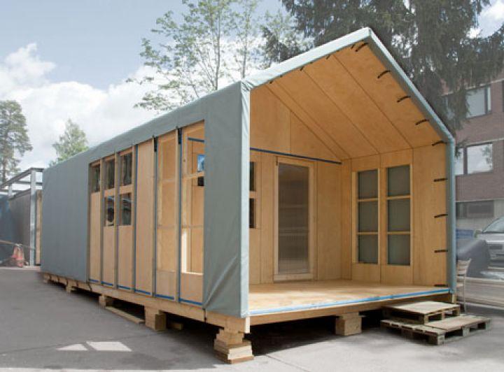 Fertigholz-Modell-home
