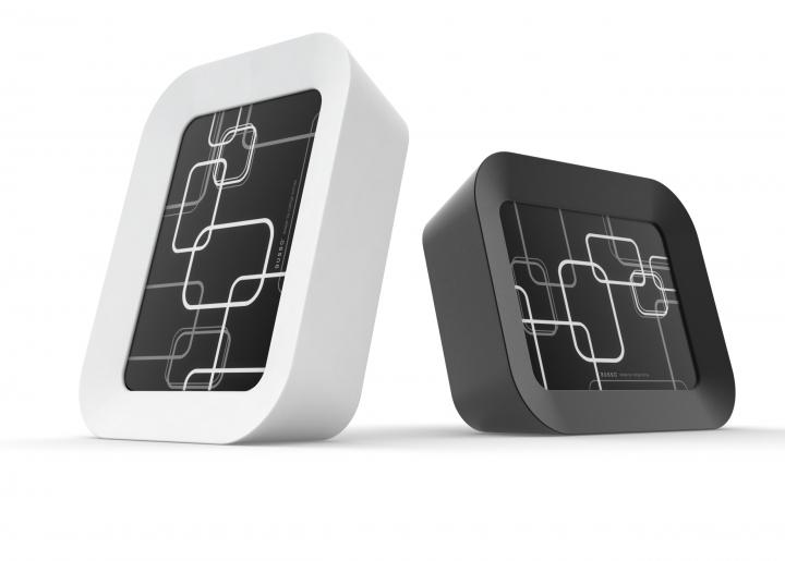 Portaritratti_Conical_bianco_e_nero_design_Rodrigo_Torres_per_BUSSO