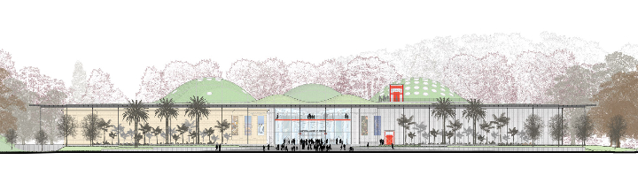カリフォルニア·アカデミー·オブ·サイエンス - 緑 - 屋根7