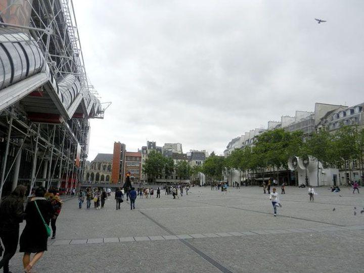 Richard Rogers Centre Pompidou, Renzo Piano-06