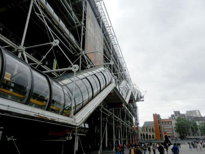 Richard Rogers Centre Pompidou, Renzo Piano-07