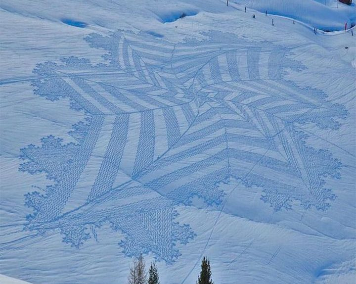 Snow-art-με-Simon-Beck-2