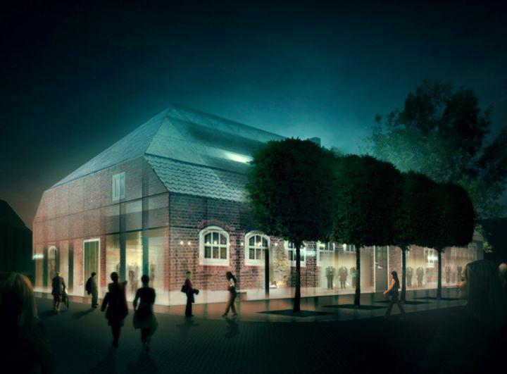 mvrdv Glas Bauernhof in den Niederlanden 01