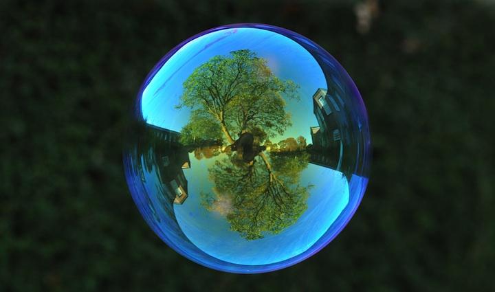 Richard Heeksl magiques Réflexions sur Soap Bubbles-02