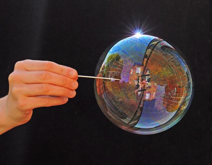 Richard Heeksl magiques Réflexions sur Soap Bubbles-03