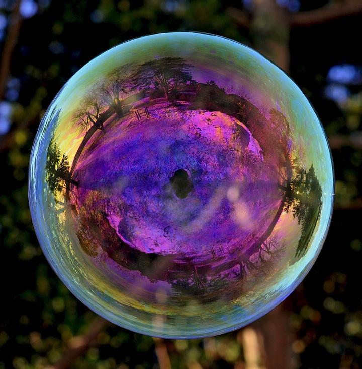 Richard Heeksl magiques Réflexions sur Soap Bubbles-04