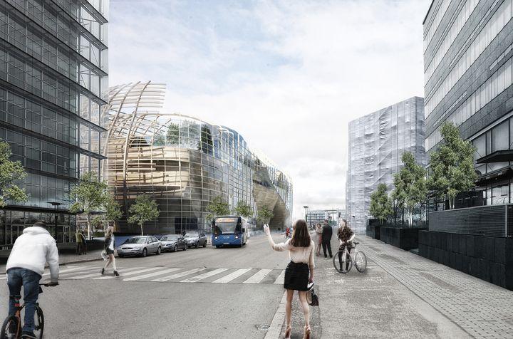 Djuric Tardio Architectes Helsinki Central Library 19