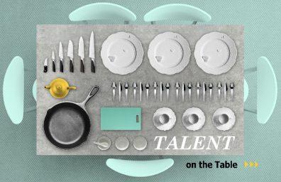 visuelles Talent