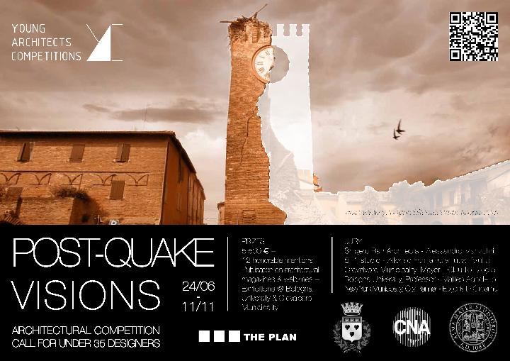 Post-Quake Visions achitekti konpetisyon
